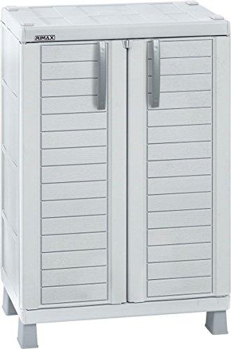 Rimax 11567 Outdoor Storage, Medium, Grey