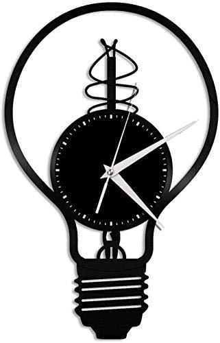 WTTA Lámpara de Vinilo Reloj de Pared Amigos decoración del hogar diseño Retro decoración del hogar