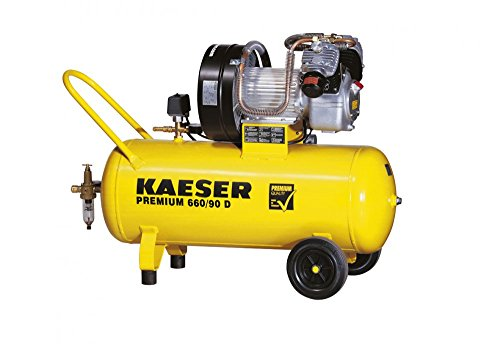 Kaeser Premium 660/90D Werkstatt Druckluft Kolben Kompressor