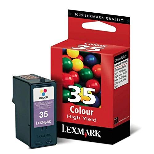 Lexmark 18C0035E 35XL Tintenpatrone dreifarbig hohe Kapazität 21ml 450 Seiten