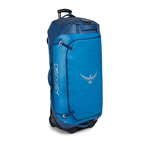 Osprey Rolling Transporter 120 Unisex Durable Wheeled Travel Pack - Kingfisher Blue (O/S)