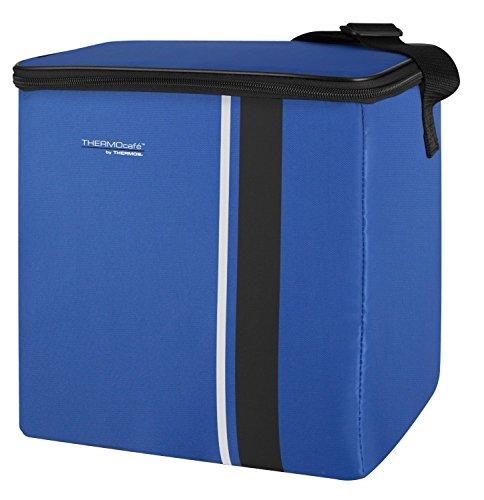ThermoCafé by THERMOS Kühltasche Neo gross 15 Liter - Isolierte Einkaufstasche aus Polyester, blau 22 x 26 x 28 cm - Faltbare Isoliertasche für Sport, Picknick, Büro, Auto oder Urlaub - 4090.253.150