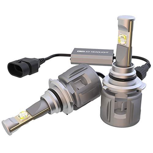 Acant H7 LED Coche Faros Delanteros Bombilla, 6000k 6000lm 60w Chip De...
