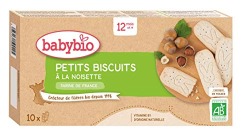 Babybio - Petits Biscuits Noisette 160 g - 12+ Mois - BIO