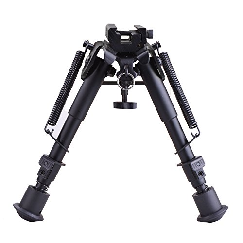 Best muzzleloading scope - CVLIFE 6-9 Inches Tactical Rifle Bipod Adjustable Spring Return with Adapter