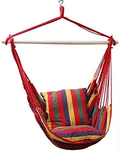 XHCP Hängematte, Schaukel, Stuhl Garden Hanging Rope Hängemattenstuhl mit Schaukelstütze Hängesessel Hängesessel mit für Indoor Garden Toy für Kindersitze
