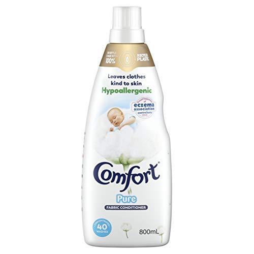 Comfort Sensitive Fabric Conditioner Pure White, 800ml
