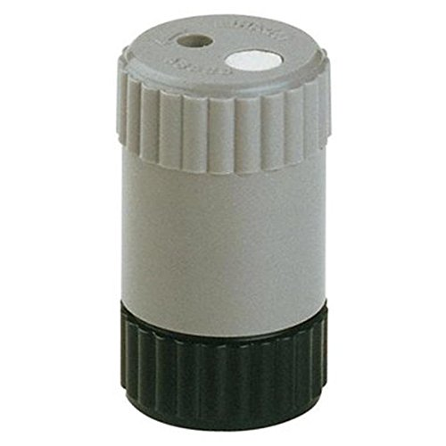 Dahle 53484–Anspitzer (Manual Pencil Sharpener, Schwarz, Grau, 2mm)