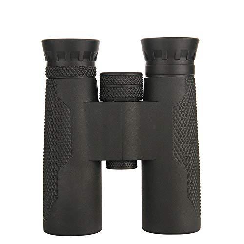 YFFSS Jumelles 10X32 puissantes pour Adultes, Jumelles Normales, durables et Transparentes pour l'observation des Oiseaux de Football Safari Sightseeing Escalade Randonnée, Noir