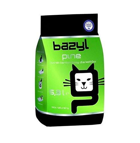 Bazyl Pin para arena de gato 5x 5,3L