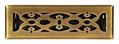Accord Floor Register with Victorian Design