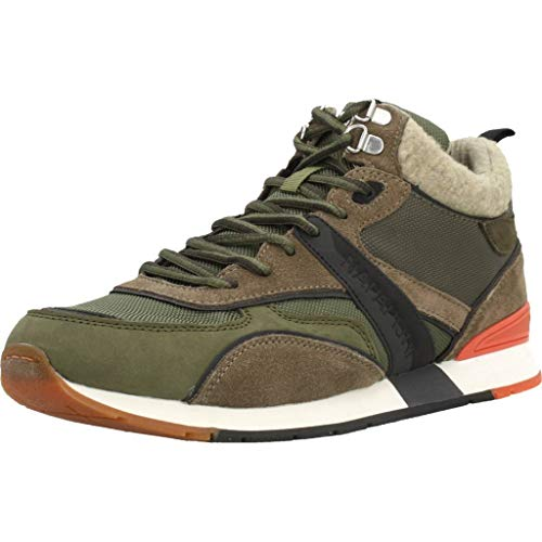 Napapijri Footwear Herren RABARI Hohe Sneaker, Mehrfarbig (Green Musk N751), 42 EU