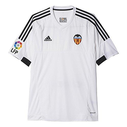 adidas 1Jersey Valencia C.F 2015/2016–T-Shirt offizielles S weiß/schwarz