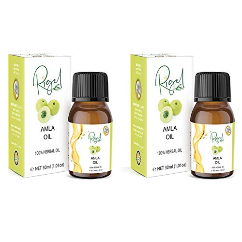 2X RIGEL - 100% Herbal Amla Oil | Remedy For Weak Hair | Ayurvedic Treatment - 30ml