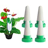 <span class='highlight'><span class='highlight'>BETOY</span></span> Plant watering cone Set of 4 Ceramic Self Watering Cone Spikes, Plant Waterer for Indoor & Outdoor Potted Flower Tree and Drip Irrigation