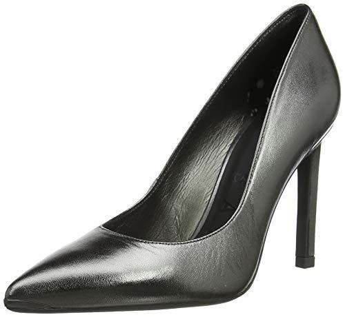 Ted Baker Melnima, Zapatos de tacón con Punta Cerrada Mujer, Plateado (Gunmetal Gunmetal), 40 EU