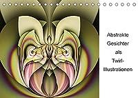 Abstrakte Gesichter als Twirl-Illustration (Tischkalender 2022 DIN A5 quer): Originelle abstrakte Twirl-Illustrationen (Monatskalender, 14 Seiten )