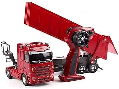 Gorgeous RC Big Truck Engineering Container Vehicle Heav Radio Controlled Max 88% OFF