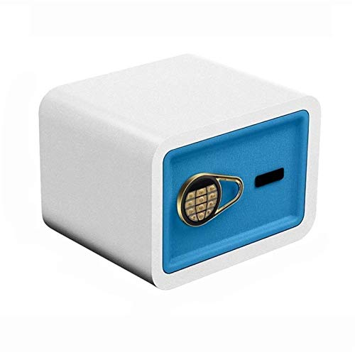 WERCHW Caja de Bloqueo electrónico de Seguridad para el hogar - Caja Fuerte con anulación mecánica, combinación Digital Bloqueo Casero Casero Casa Depósito Dinero Pistola Joyería Efectivo