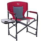 Timber Ridge Director's Chair Folding Aluminum Camping Chair