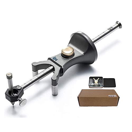 Gearwoo DIY Holz Dual-Zweck Schreiber Werkzeuge Multifunktional Zeichnen von Linien und Bögen Scriber Aluminium Alloy Scribe Tools