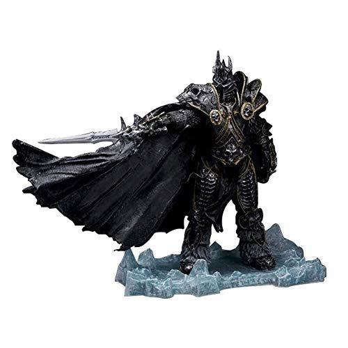 Action Figur Actionfiguren World of Warcraft Anime Action Figure The Lich King Arthas PVC Figuren Sammeln Modell Charakter Statue Spielzeug Desktop Ornamente