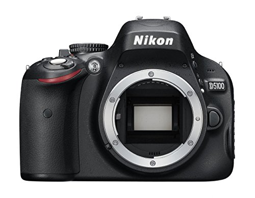 Nikon D5100 SLR-Digitalkamera (16 Megapixel, 7.5 cm (3 Zoll) Schwenk- und drehbarer Monitor, Live-View, Full-HD-Videofunktion) Kit inkl. AF-S DX 18-55 mm II Objektiv schwarz