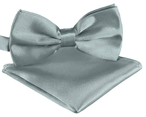BomGuard tuch graue herren-fliege schleife damen frauen männer mann hund katze weihnachten gebunden grau