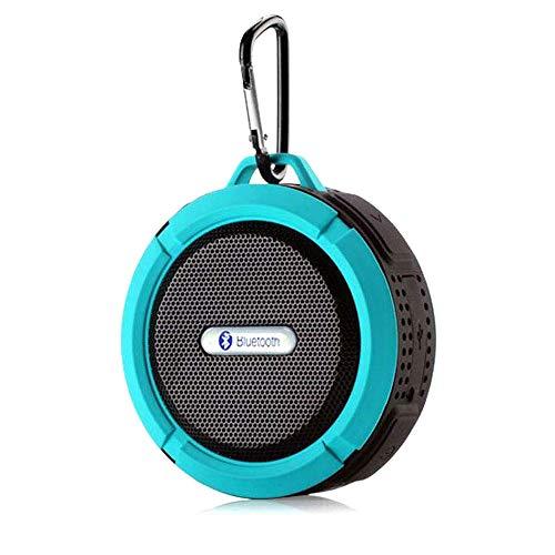 ZKJTANGYMTT Moto Speaker, Audio Moto, Audio Moto, Bluetooth luidspreker, draadloos, draadloos, computer, mini-luidspreker, motor, subwoofer voor auto, 220 V12V24V Blauw