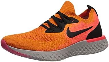 Nike Womens Epic React Flyknit Running Trainers AQ0070 Sneakers Shoes (UK 4 US 6.5 EU 37.5, Copper Flash Black 800)