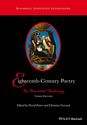 Eighteenth-Century Poetry: An Annotated Anthology (Blackwell Annotated Anthologies)