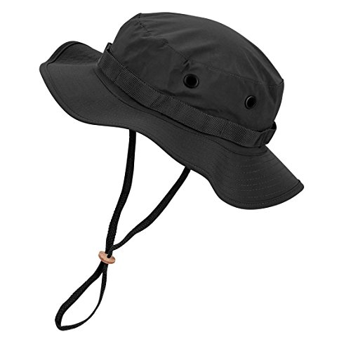 Black Snake Wasserdichter Boonie Hat Outdoor Hut M Schwarz