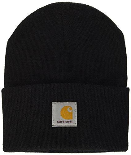 Carhartt Acrylic Watch Hat (12 Minimum), Unisex Adulto, Negro (Black 89.00), Talla única