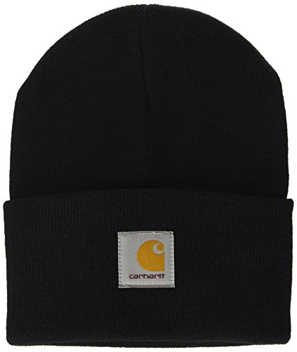 Carhartt Acrylic Watch Hat (12 Minimum), Unisex Adulto, Negro (Black 89.00), Talla...