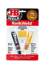 J-B Weld KwikWeld: A fast setting version of The Original Cold Weld two-part epoxy system that provides strong, lasting repairs to multiple surfaces. Perfect for DIY household, automotive, marine, craft repair and much more Cure and Set Time: After m...