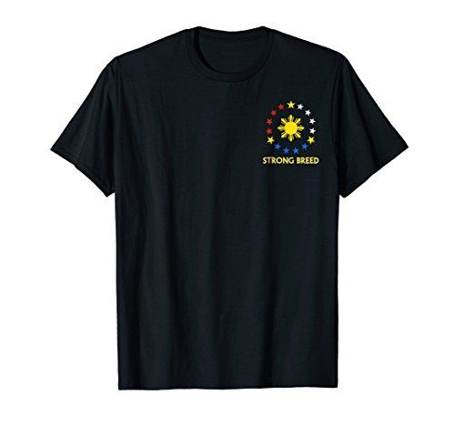 Strong Breed Filipino American Pride T-Shirt