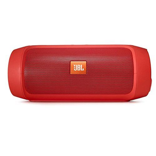 JBL Charge 2+ Splashproof Portable Bluetooth Speaker (Red)