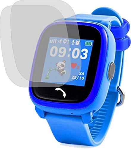 4ProTec I 2X Crystal Clear klar Schutzfolie für Vidimensio Kleiner Panda Displayschutzfolie Bildschirmschutzfolie Schutzhülle Displayschutz Displayfolie Folie