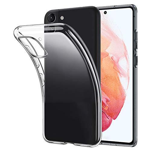 ANEWSIR Cover Compatibile con Samsung Galaxy S21 5G, Anti-Graffio Custodia Trasparente Morbida Gel TPU Case Compatibile con Samsung S21 5G