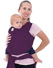 Nosidełko dla Niemowląt - Wszystko w 1 Rozciągliwa Chusta do Noszenia Dzieci - Ergo Chusta do Noszenia - Chusty do Nosidełek dla Noworodka, Dziecko (Królewski Fioletowy)