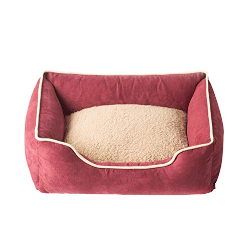 Cat Beds Deluxe Pet Bed For Cats And Small Medium Dogs Non Stick Hair Removable And Washable Warm mwsoz (Color : C, Size : X-Large)