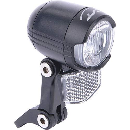 Contec Unisex– Erwachsene Luna 80 LED-Scheinwerfer, schwarz, Lux