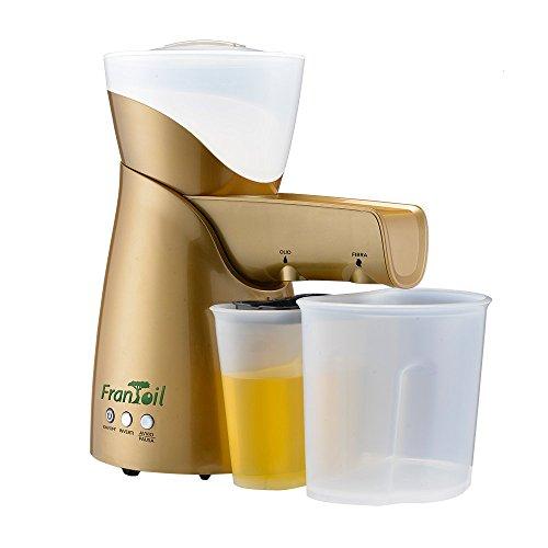 Siqur Salute, Frantoil Gold, huismolen, olietrekker en gedroogde vruchten, BPA-vrij, chirurgisch staal AISI 304