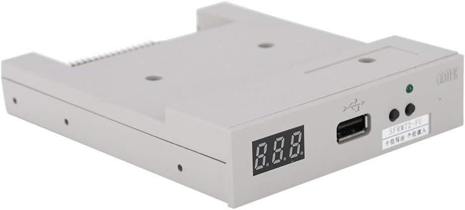 Tanke Floppy Drive 720KB SFRM72-FU USB SSD Floppy Drive Emulator with 720K Floppy Drive ABS, 5.044.091.1in