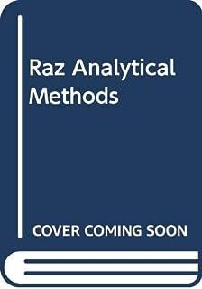 Raz Analytical Methods