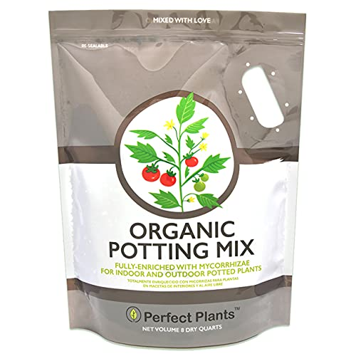 Organic Potting Mix by Perfect Plants for All Plant Types -...
