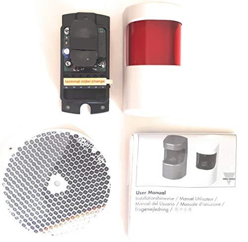Fotocelula de reflexion con espejo CARLO GAVAZZI compatible con cualquier marca y...
