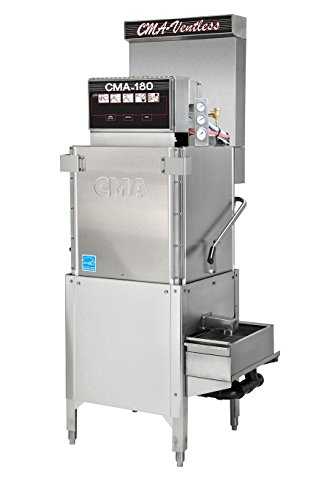 CMA Dishmachines CMA-180-VL 40 Rack/Hr Ventless Door-Type Dishwasher