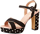 EFERRI Corbigny, Zapato de tacón Mujer, Negro, 40 EU