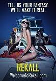 TOTAL Recall - Colin Farrell – Film Poster Plakat Drucken